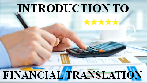 financial translation online course English Spanish