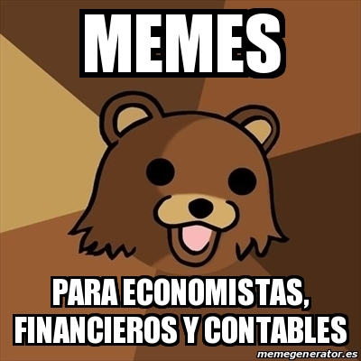 memes dobre economía finanzas contabilidad