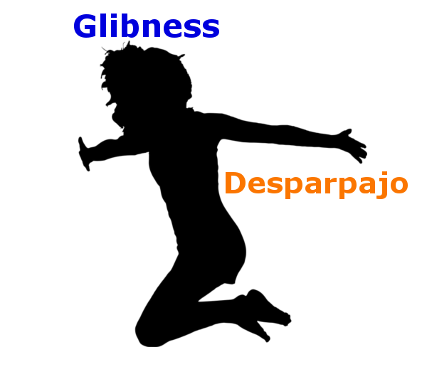 glibness desparpajo