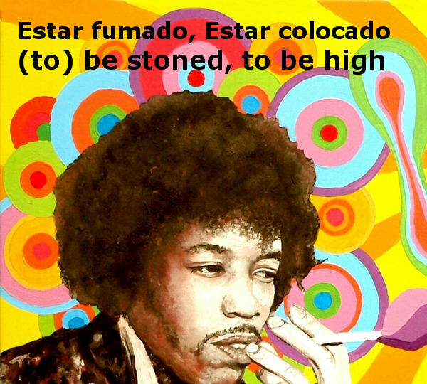 to be stoned to be high