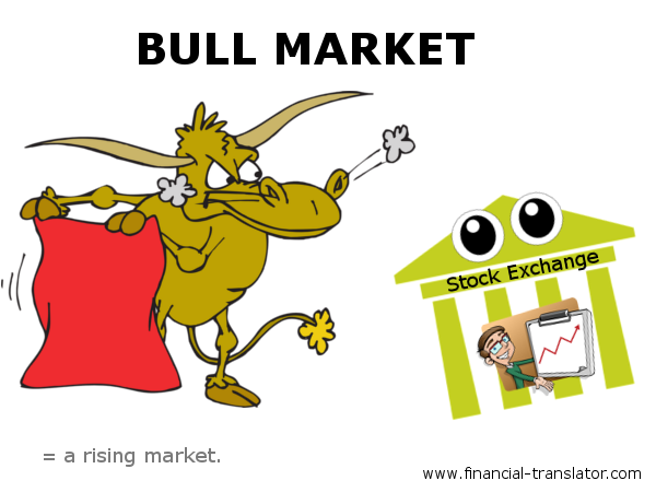 bull market stock market stock exchange