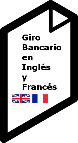 bank draft in Spanish and French
